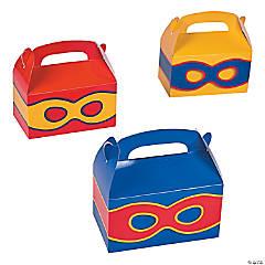 Superhero Favor Boxes - 12 Pc.