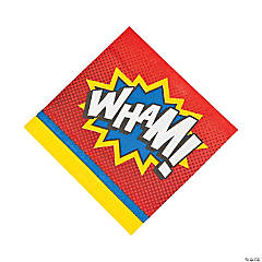 Superhero Luncheon Napkins