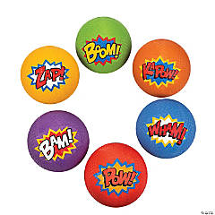 Superhero Playground Ball Assortment