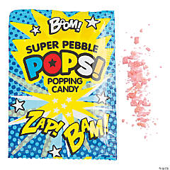 Superhero Popping Hard Candy Fun Packs