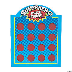 Superhero Prize Punch Game