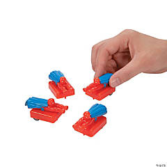 Superhero Pull-Back Toys