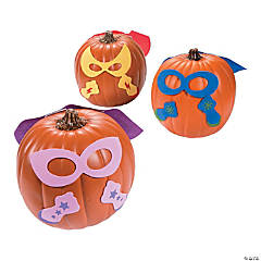 Superhero Pumpkin Decorating Craft Kit