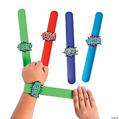 Superhero Slap Bracelets PDQ