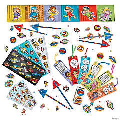 Superhero Stationery Assortment