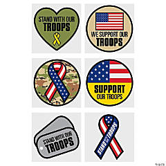 Support Our Troops Temporary Tattoos