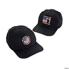 Support Our Veterans Baseball Caps