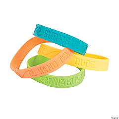 Surf's Up Rubber Bracelets