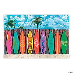 Surf's Up Surfboard Backdrop