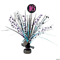 Sweet 16 Celebration Burst Decoration