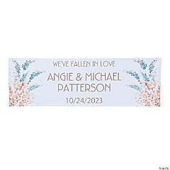 Sweet Fall Wedding Custom Banner - Small