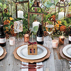 Sweet Fall Wedding Theme