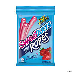 Sweetarts Strawberry Ropes 5oz, 6 Count