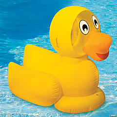 Swimline® Giant Inflatable Ducky Pool Float