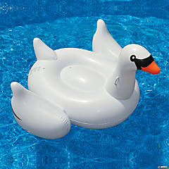 Swimline Inflatable Giant Swan Pool Float