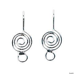 Swirl Wire Earrings