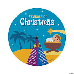 Symbols of Christmas Learning Wheels