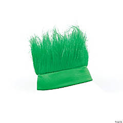 Synthetic Green Crazy Hair Headband
