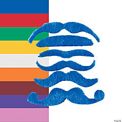 Synthetic Mustache Assortment