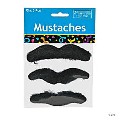 Synthetic Self-Adhesive Mustaches