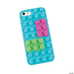 Synthetic Silicone Brick Pieces for iPhone®