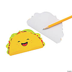 Taco-Shaped Notepads