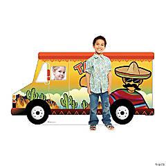 Taco Truck Photo Cardboard Stand-Up