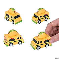 Taco Truck Pull-Back Toys