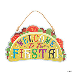 Taco Welcome Door Sign