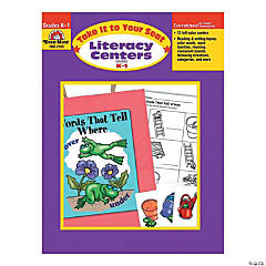 Take It to Your Seat: Literacy Centers - Teacher Resource Book, Grades K-1