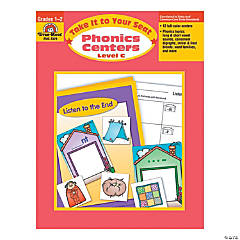 Take It to Your Seat: Phonics Centers - Teacher Resource Book, Grades 1-2 (Level C)