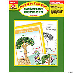Take It to Your Seat Science Centers Book, Grades PreK-K
