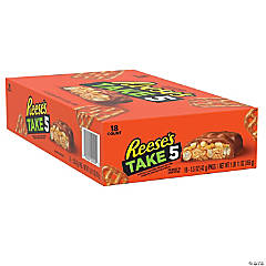 TAKE5 Full Size Candy Bar, 1.5 oz, 18 Count