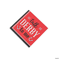 Talk Derby to Me Beverage Napkins