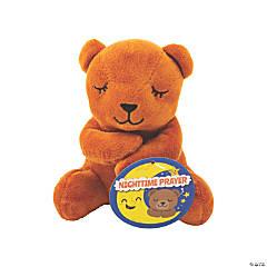 Talking Prayer Stuffed Bear with Card