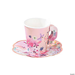 Talking Tables Blossom Girls Cups with Saucers