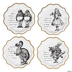 Talking Tables Truly Alice Dinner Plates - 8 Ct.