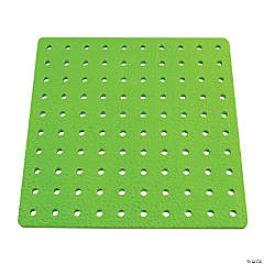 Tall-Stacker™ Large Pegboard, 100 holes, Set of 3 Pegboards