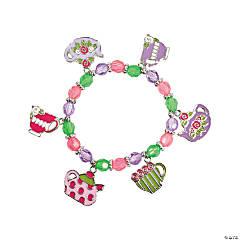 Tea Party Charm Bracelets