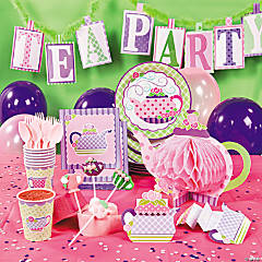 Tea Party Deluxe Party Pack