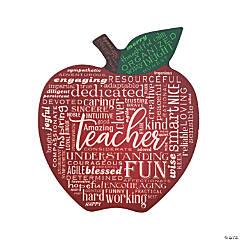 Teacher Apple Tabletop Sign
