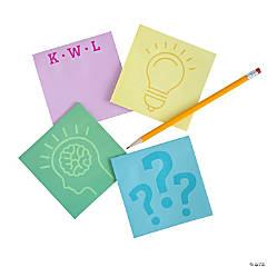 Teacher KWL Sticky Notes