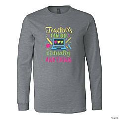 Teachers Can Do Virtually Anything Adult's T-Shirt
