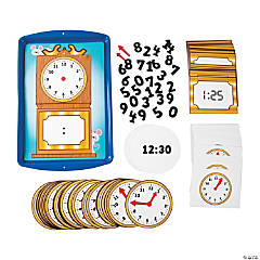 Teaching Time Magnetic Activity Set
