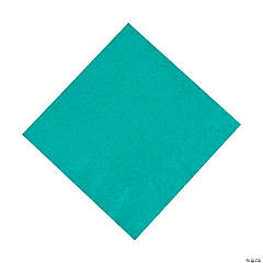 Teal Lagoon Luncheon Napkins