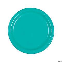 Teal Lagoon Round Dinner Plates
