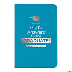 Teal New King James Version God's Answers for the Graduate