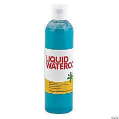 Teal Tropical Color Liquid Watercolor Paint
