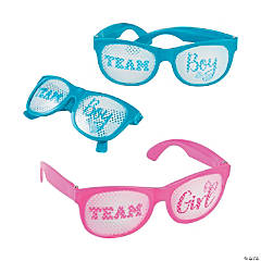 Team Boy & Team Girl Pinhole Glasses