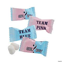 Team Pink & Team Blue Baby Shower Buttermints